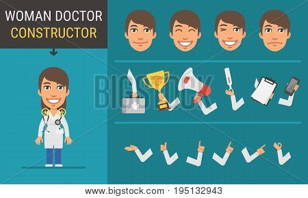 Constructor Character Woman Doctor