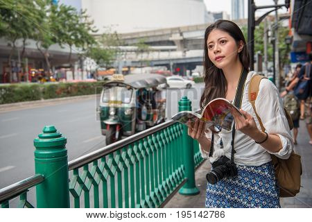 Tourist Happy Reading Guide Book