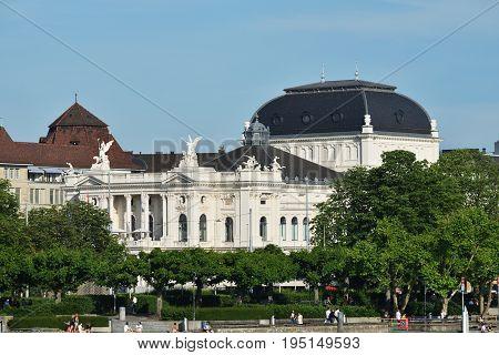 Zurich Opera Building, Opernhaus, Switzerland