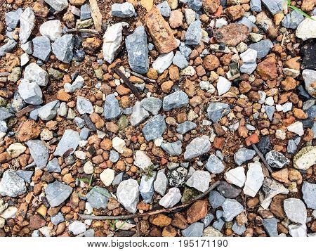 Brown blue Stone ground pattern background texture