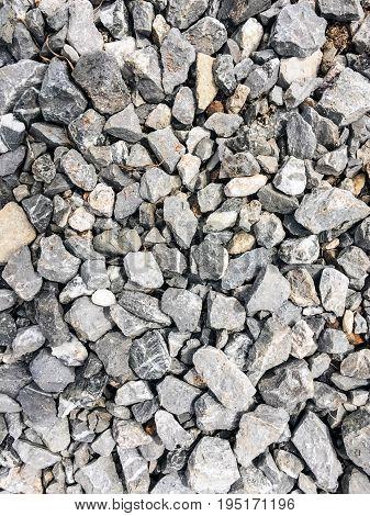 Closeups Blue Stone ground pattern background texture