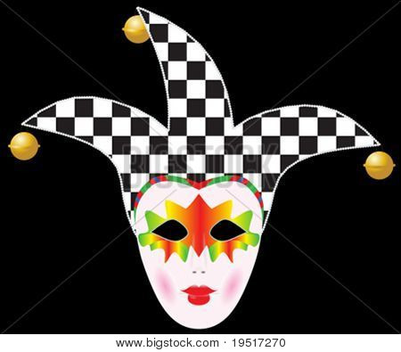 Carnival mask - vector illustration for your design project.