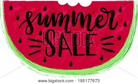 Summer Sale Lettering