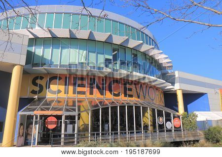 MELBOURNE AUSTRALIA - JULY 1, 2017: Scienceworks museum. Scienceworks museum is a world renowned science museum in Melbourne