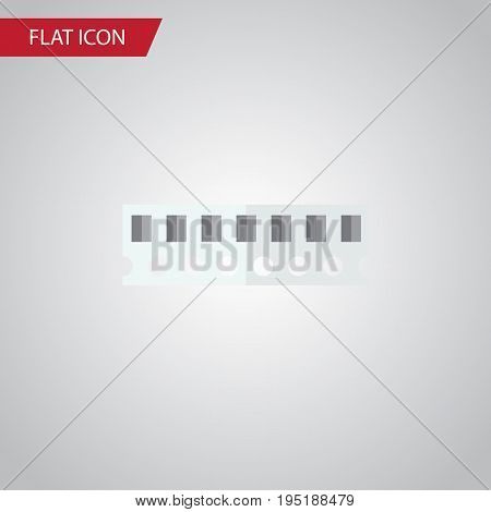 Isolated Ram Flat Icon. Memory Vector Element Can Be Used For Random, Access, Memory Design Concept.