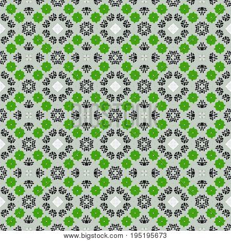 Motley ornamental repeating design seamless pattern wallpaper
