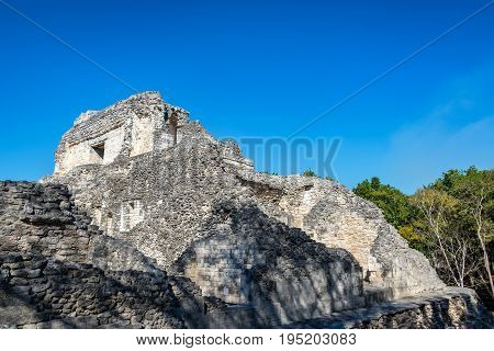 Architecture In Becan, Mexico