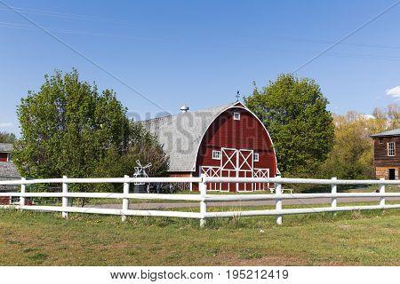 Large Barn Building