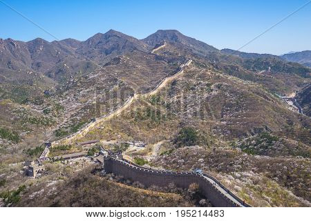 The Great Wall (badaling) In Beijing, China