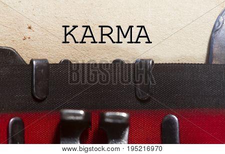Karma Belief