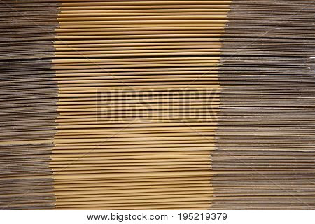 abstract of corrugated paper for background used