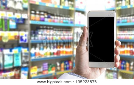 Business Pharmacy  Drugstore Healthcare  Concept Pharmacists In Pharmacy Doctors Are Prescribing