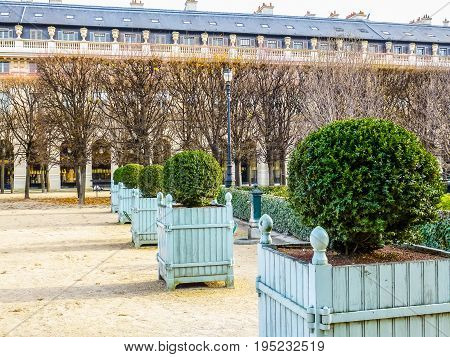 Hdr Palais Royal Paris