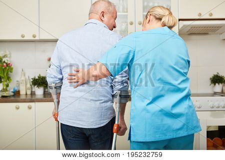 Physiotherapy for senior citizen from physiotherapist