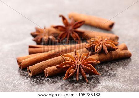 anise and cinnamon