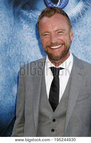 LOS ANGELES - JUL 12:  Richard Dormer at the