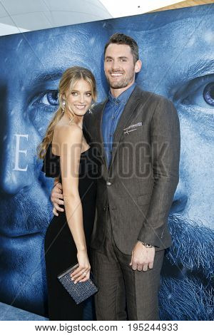 LOS ANGELES - JUL 12:  Kate Bock, Kevin Love at the