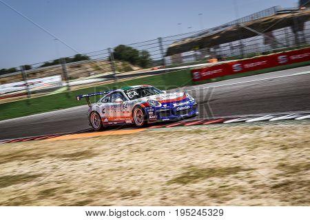 Vallelunga, Rome, Italy. June 24 2017. Italian Porsche Carrera Cup Livio Selva Racing Driver