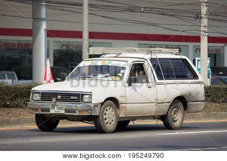Private Isuzu Kb Old Pickup Car.