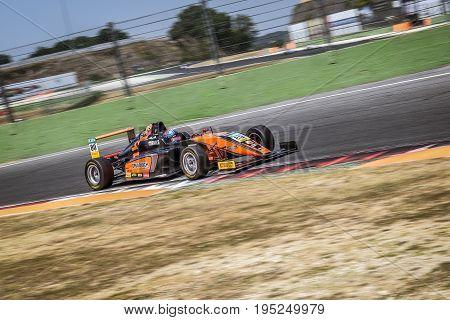 Vallelunga, Rome, Italy. June 24 2017. Italian Formula 4 Abarth Championship, Driver  Felipe Drugovi