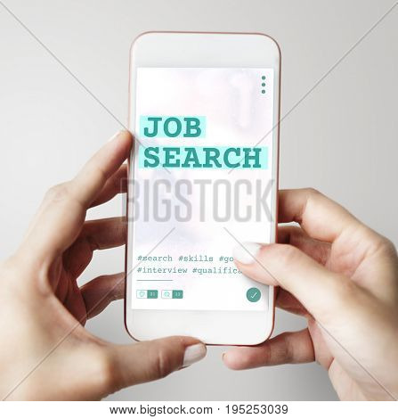 Career Job search employment application