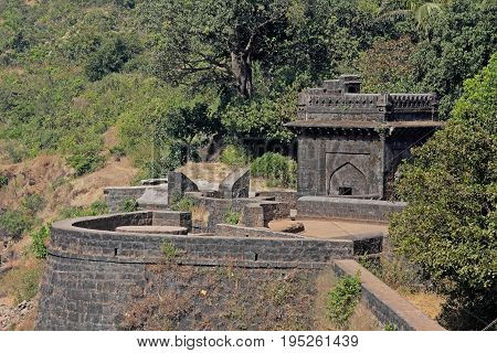 Panhala fort also known as Panhalgad Pahalla and Panalla is located in Panhala 20 kilometres northwest of Kolhapur in Maharashtra India.