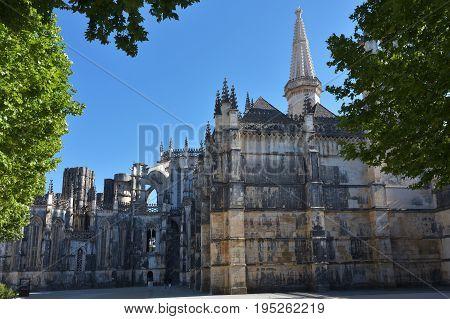 Monastery Of Santa Maria Da Vitoria Batalha Centro Region Portugal
