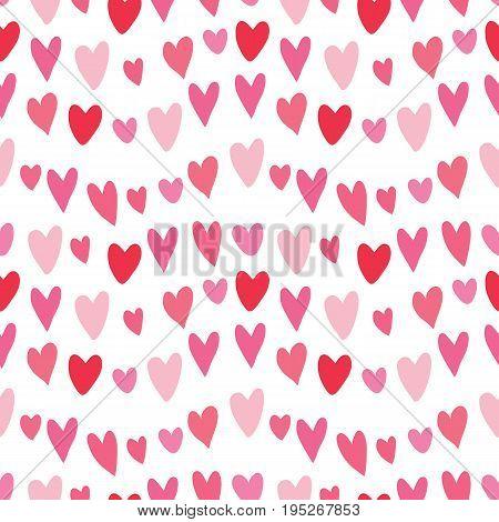 Vector celebratory love Heart pattern for your design