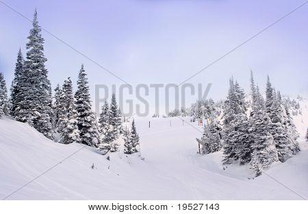view of ski hill