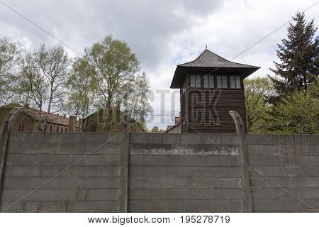 German Concentration Camp Auschwitz