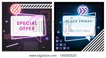 Abstract Black Friday And Special Offer