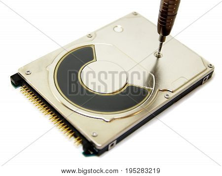 Microchip, fine tuning and repair of hard disk