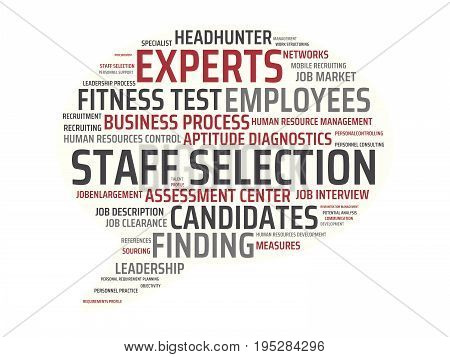 Applicant Management - Image With Words Associated With The Topic Recruiting, Word, Image, Illustrat