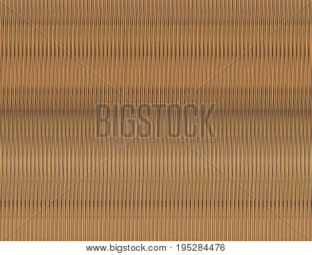 Background wooden veneer with narrow vertical lines color gradient beige gray sand color