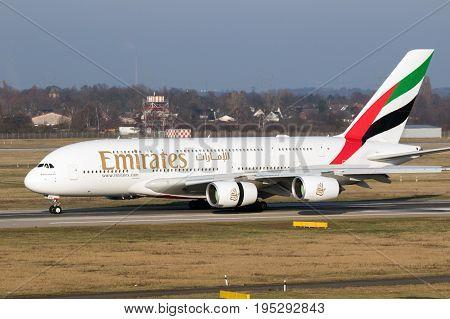 Airbus A380 Emirates Airlines