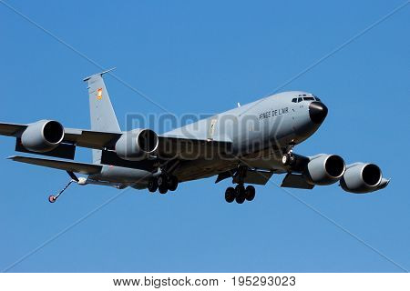 C-135 Tanker Airplane France Airforce