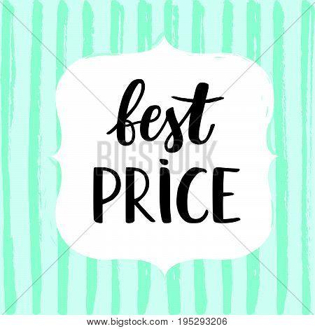 Sale Card Vector Illustration