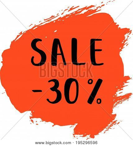 Sale Card Vector Illustration