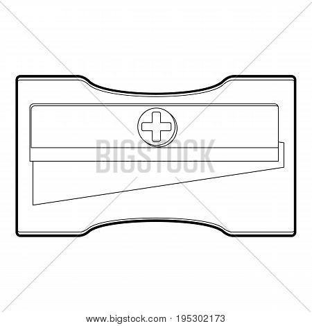 Sharpener icon. Outline illustration of sharpener vector icon for web design