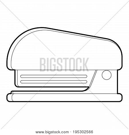 Stapler icon. Outline illustration of stapler vector icon for web design