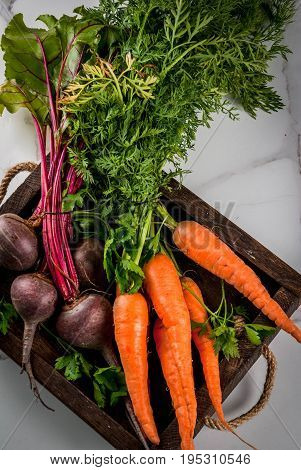 Box With Fresh Vegetables