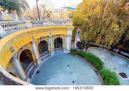 Fountain In Santa Lucia Park