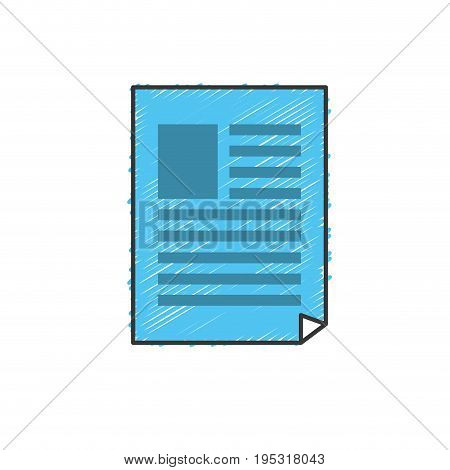 business document and company information vector illustration