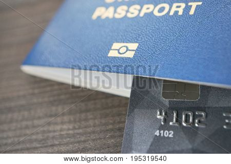 All That Is Needed For Traveling Passport And Payment Card