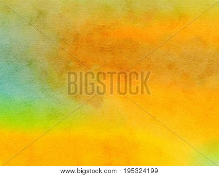 A digitally created watercolour paint background texture with blended shades and hues.