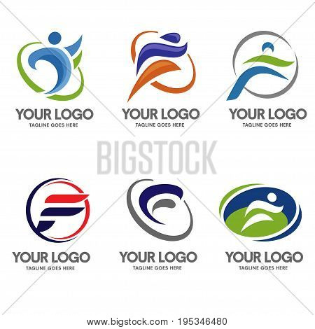 Letter F logo sport is strong, minimalist and modern logo concept suitable for all kind of business, specifically sport.