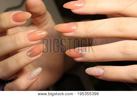 Manicure Design Of Pastel Color