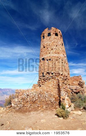 Grand Canyon Old Desert View Watchtower