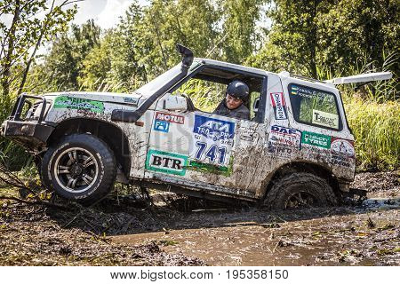 TOLOKUN` UKRAINE - JULY 2 2016 :ATL TROPHY 2016. III stage of offroad trophy Ukrainian championship.