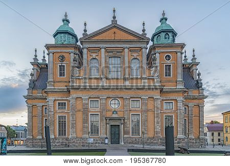 Kalmar Cathedral is in the centre of the city in southeast Sweden situated on the Baltic Sea.